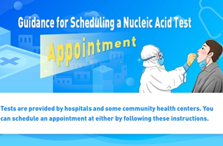 Guidance for Scheduling a Nucleic Acid Test Appointment