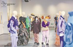 中国时装画大展首次来深
